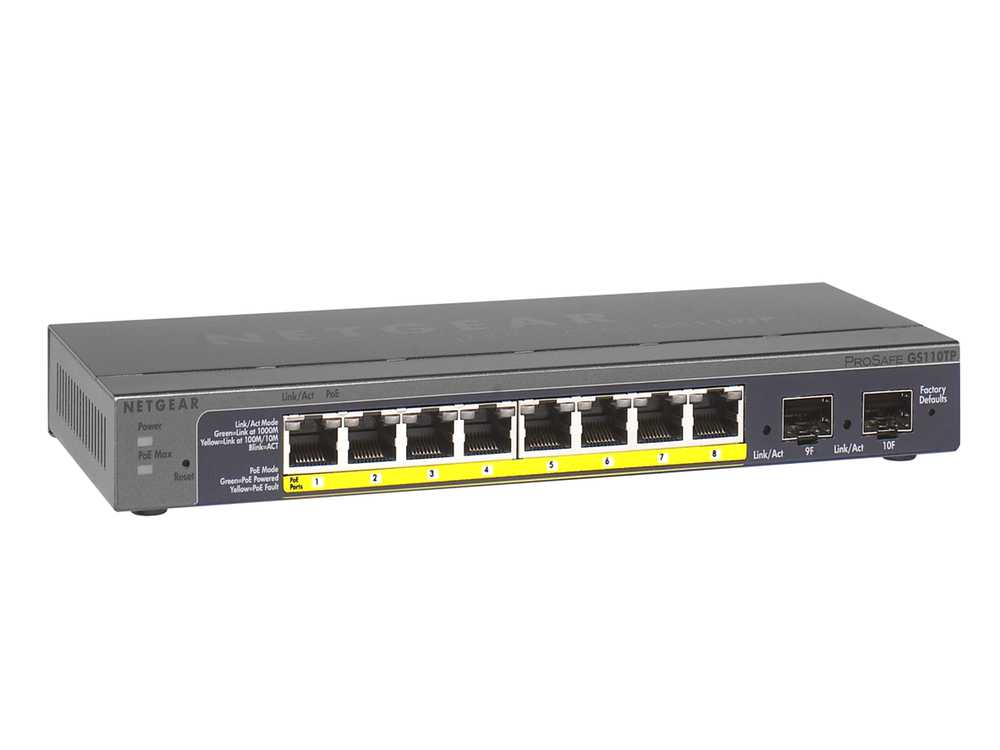8 Port Gigabit Ethernet PoE Smart Switch € 170.95