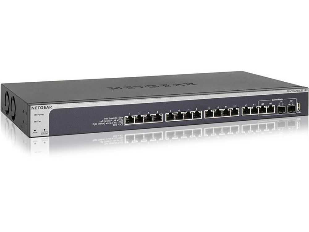 16PT 10G WEB MANAGED SWTCH W/1 SFP+ € 1389.95