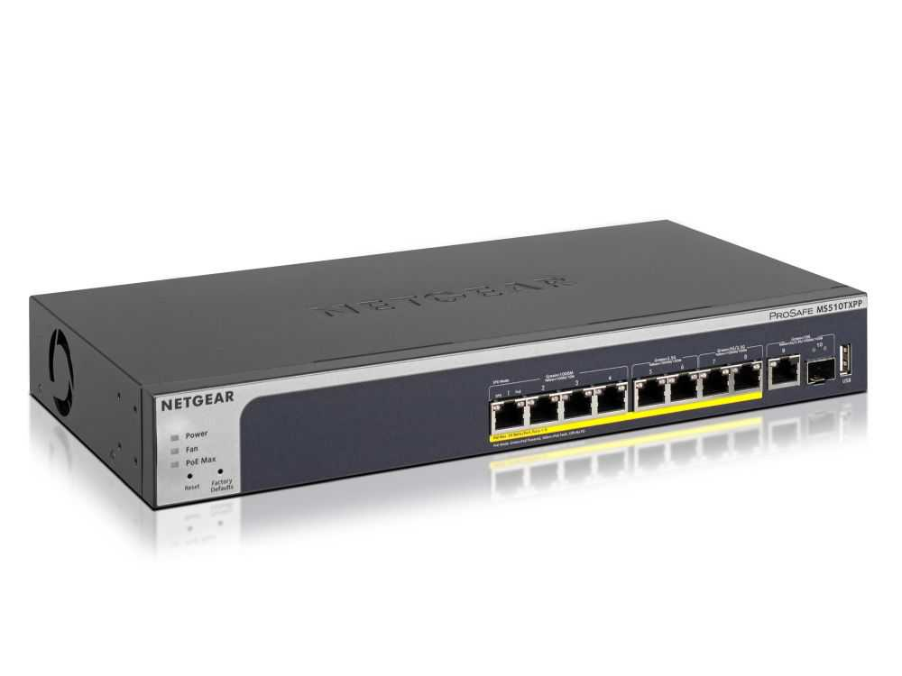 10PT MULTI GB POE+ SMART SWITCH € 452.95