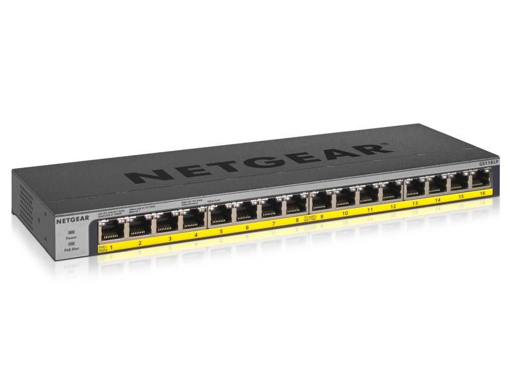16PT POE/POE+GIGABIT UNMANAGED  Switch € 215.95