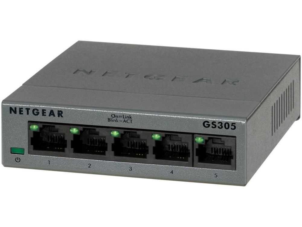5 poorts gigabit switch metalen behuizing Gigabit 10/100/1000 Mbps € 26.95