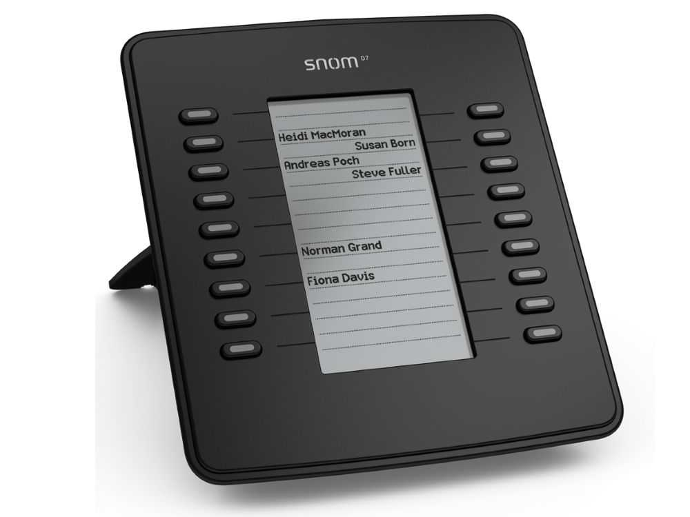 Snom D7 Expansion module black € 130.95