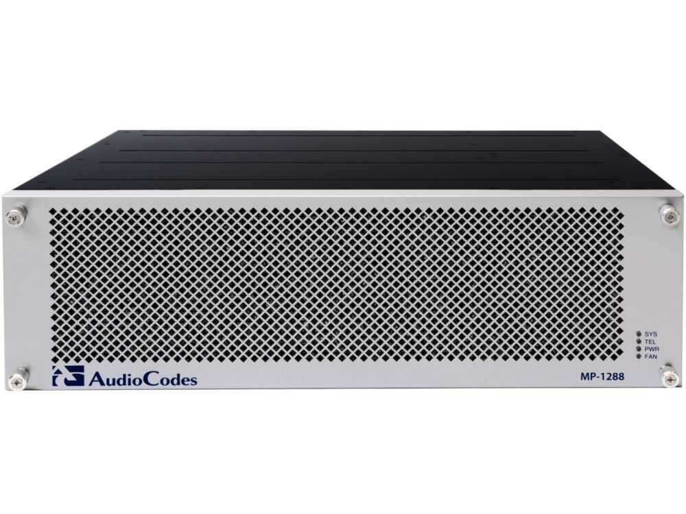 MP-1288 high density analog gateway with 144 FXS ports € 10942.95