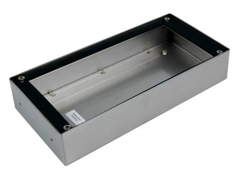 RVS Encloserbox 1,1A,9 PortaVision Brushed € 139.95