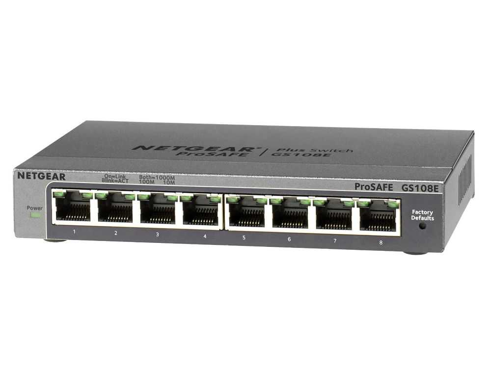 8-port Gigabit 10/100/1000 Mbps desktop € 68.95