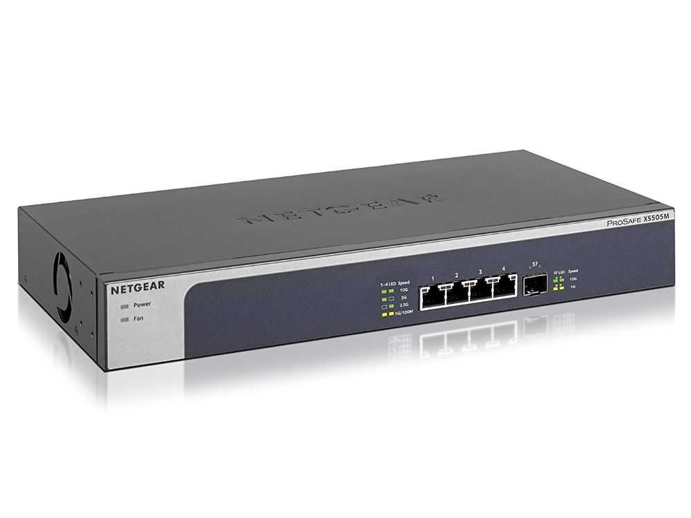 5PT 10G/MULTIGIGABIT UNMANAGED SWCH € 478.95